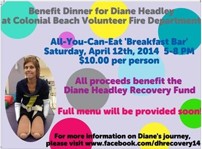 Benefit for Diane Headley