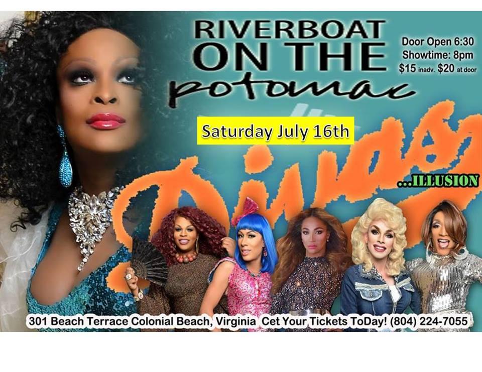 Divas show flyer