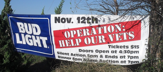 Operation Help Our Vets Banner