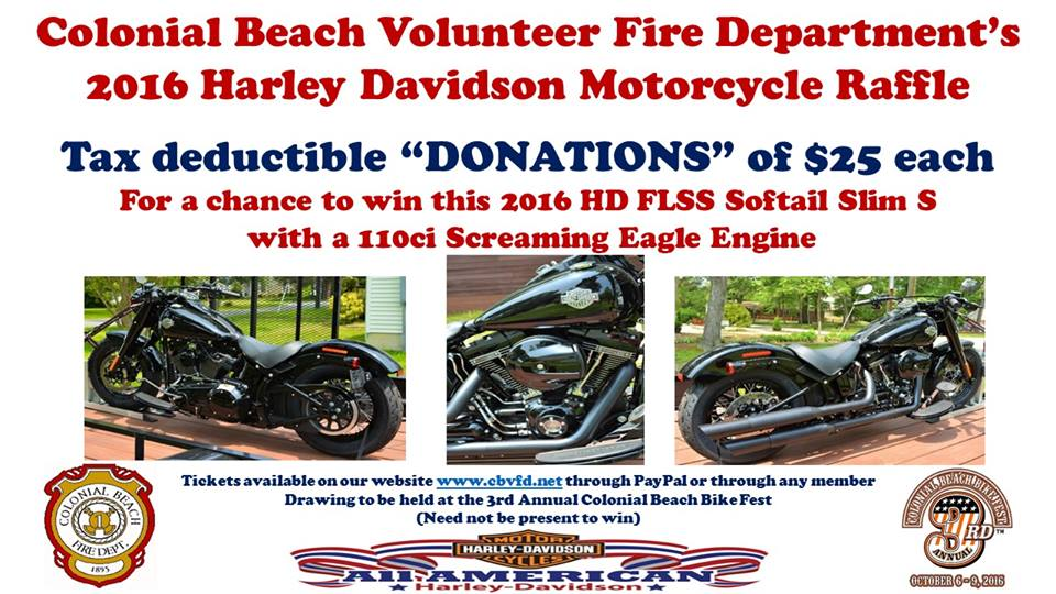 bike raffle flyer