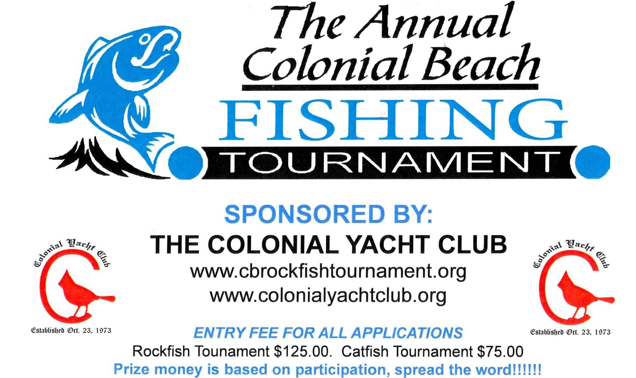 Spring Rockfish Tournament flyer