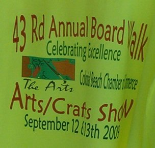 Boardwalk arts and crafts festival sept 6 7 for Michaels arts and crafts virginia beach