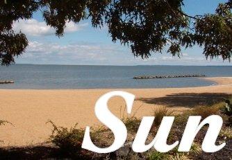 Sunbathe in Colonial Beach Virginia