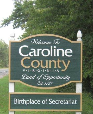 Secretariat Birthplace Sign