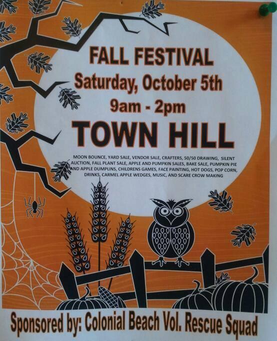 Fall Festival Colonial Beach