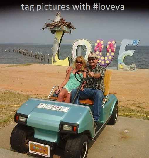 Touring The Boardwalk In Colonial Beach, Virginia