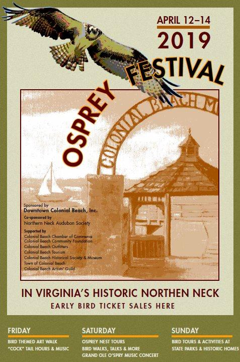 Osprey Festival Poster 2019