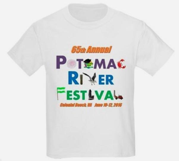 Potomac River Festival Tee Shirt