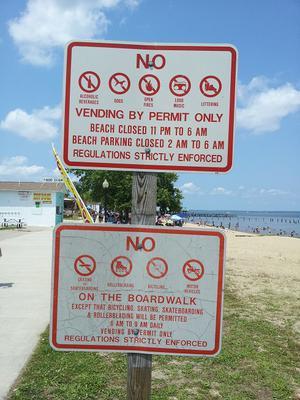 Beach Rules circa May 2012