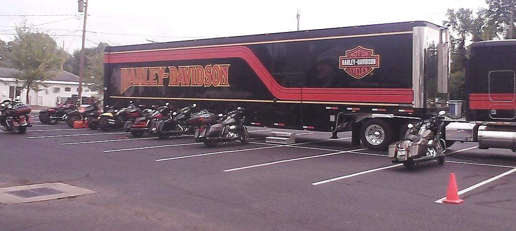 Harley Demo Fleet Semi