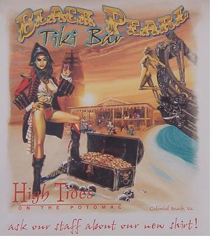 Black Pearl Tiki Bar poster