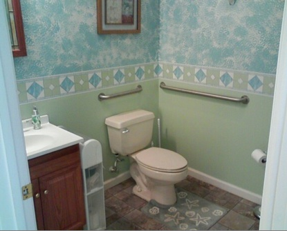 Restroom at The Bonus Room
