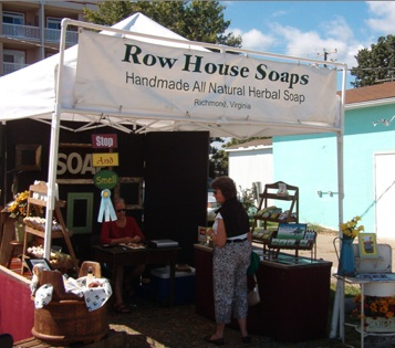 Row House Soaps wins an Award at the Arts & Crafts Show