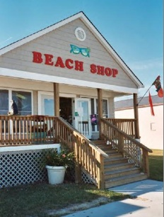 Beach Shop on the Boardwalk in Colonial Beach