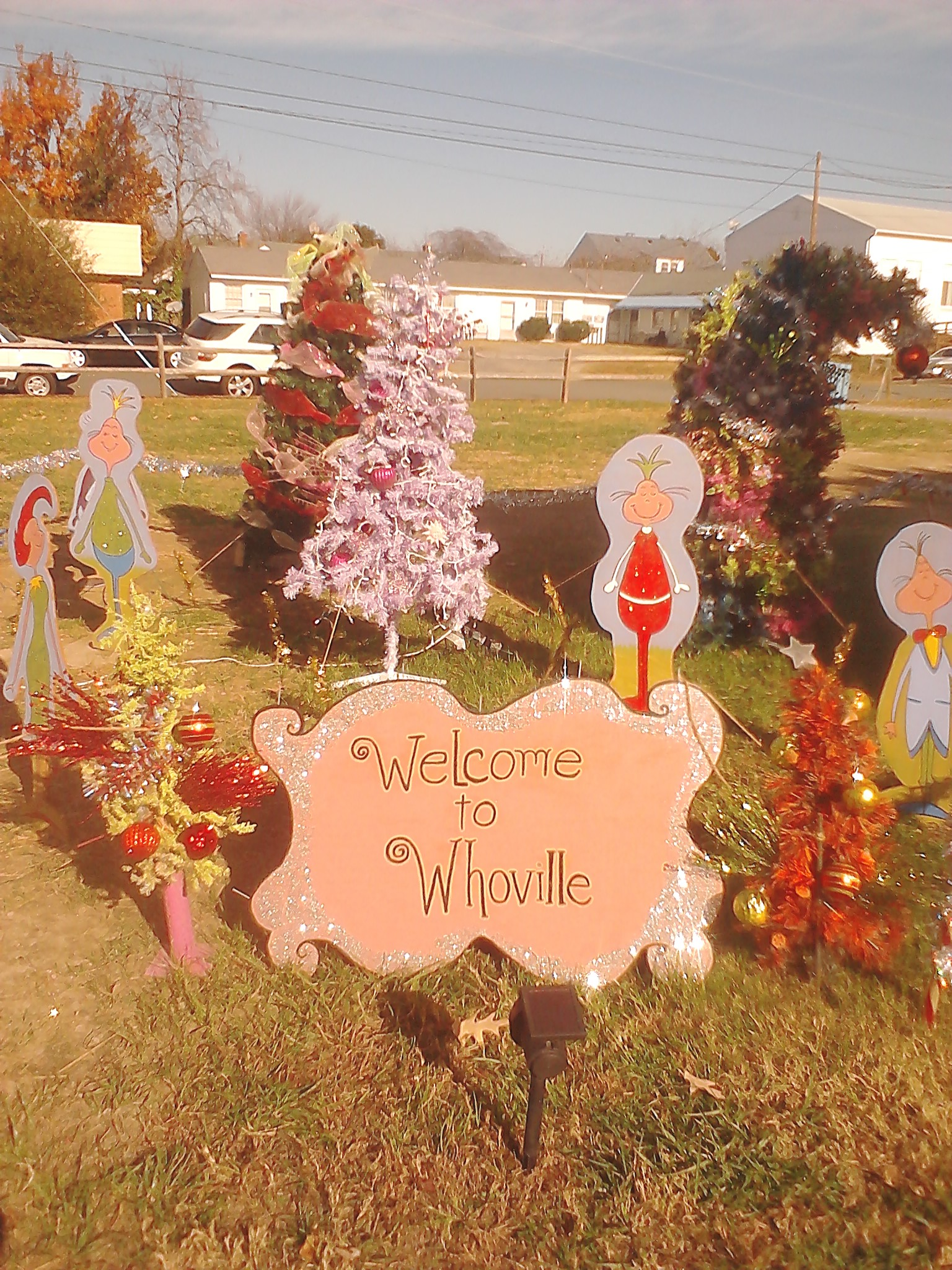 Whoville Display on Town Hill