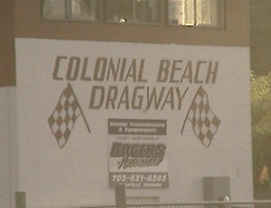 Colonial Beach Dragway press box