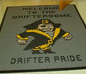 Drifter Pride floor mat