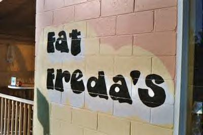 Fat Freda's restaurant