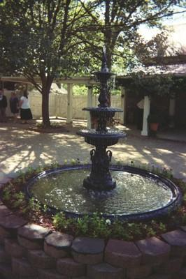 Fountain in Courtyard at Ingleside