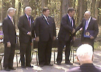 Speakers at James Monroe Birthday Celebration