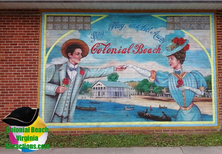 mural on town hall