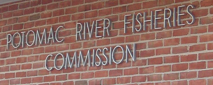 Potomac River Fisheries Commission sign