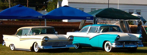 50's Cars at the 30th Annual Rod Run to The Beach