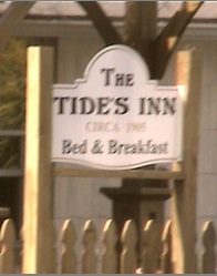 Tides Inn Market sign