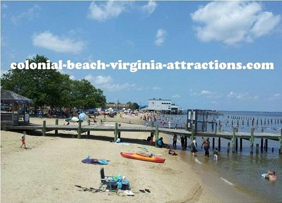 Colonial Beach Virginia Attractions