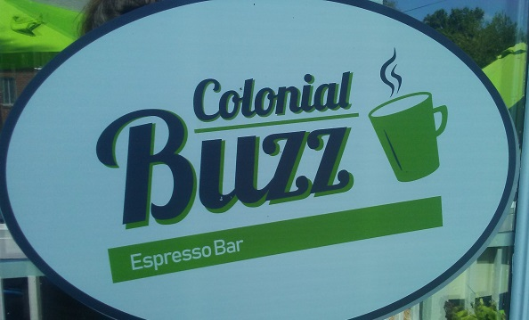 colonial buzz espresso bar logo