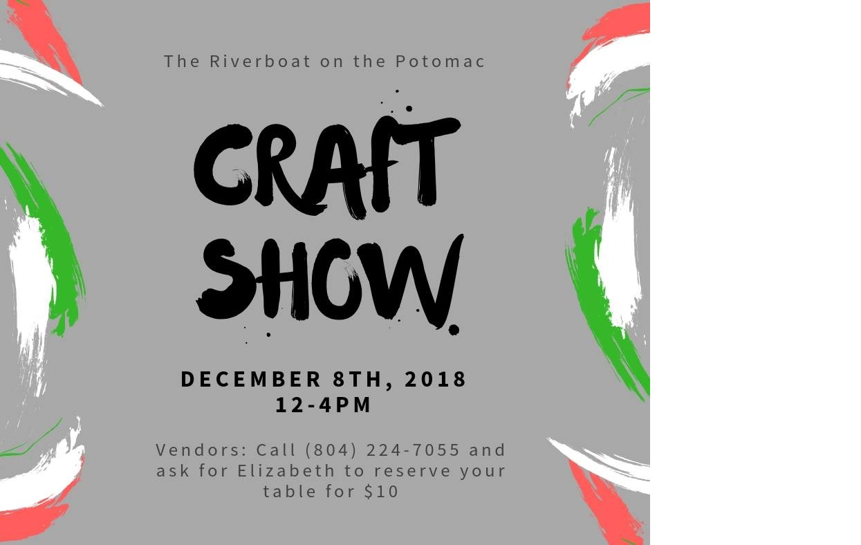 Riverboat Craft Show Flyer