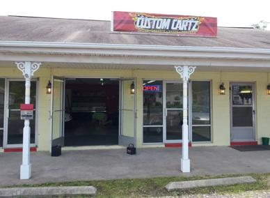 Custom Cartz storefront
