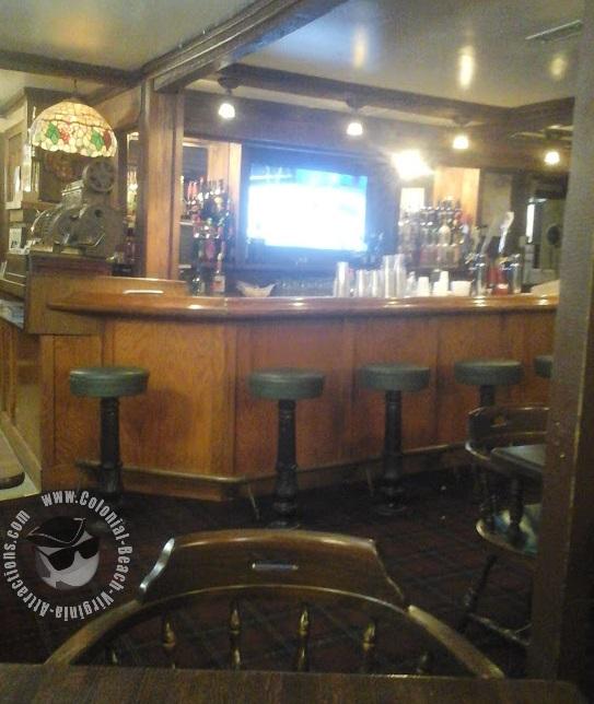 Pub area at Dockside