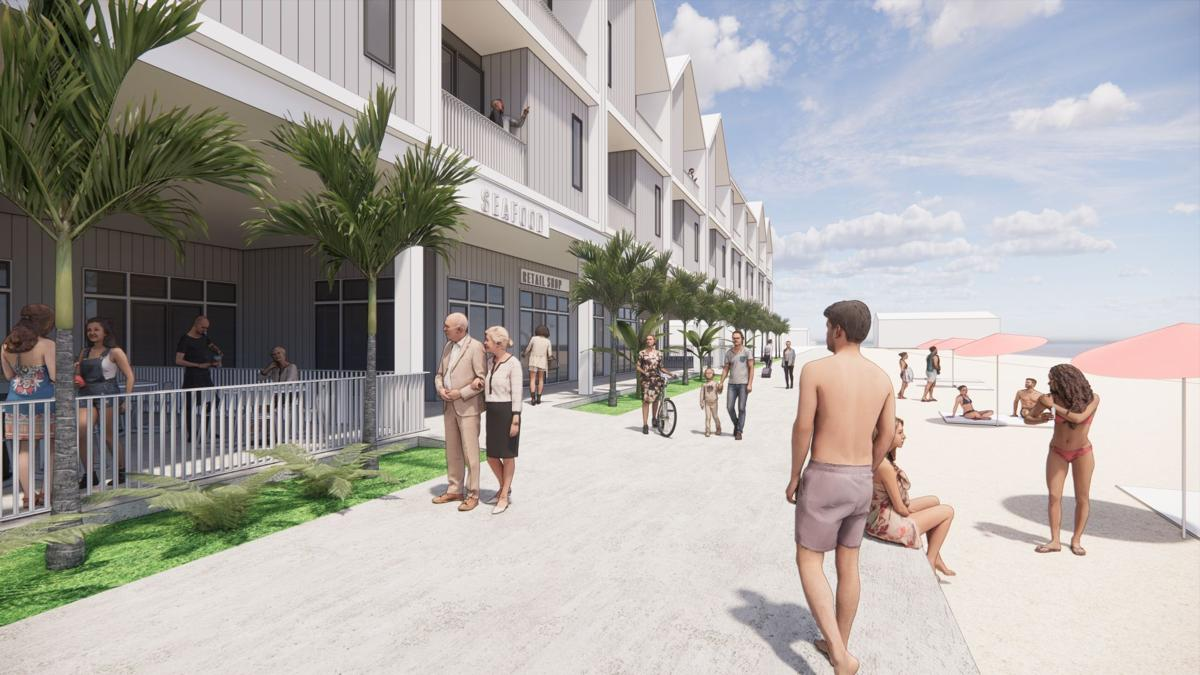 Boardwalk Condo Building rendering