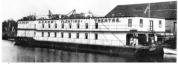 James Adams Floating Theatre showboat
