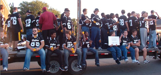 Colonial Beach High School Drifters Football team