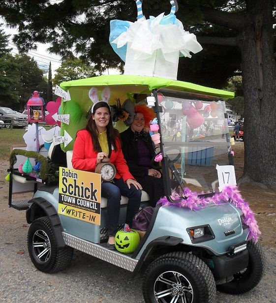 alice in wonderland golf cart