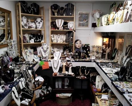 Jewelry galore at Grandma's Jewelry Box
