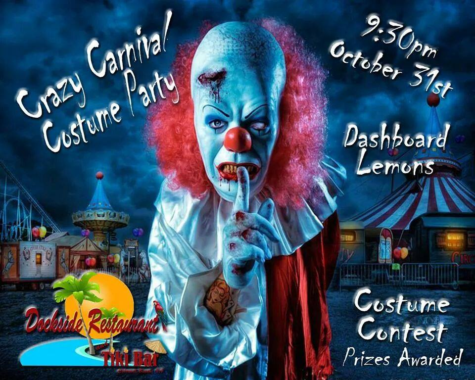 Halloween at Dockside Tiki Bar