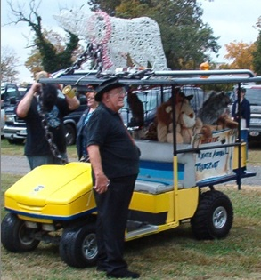 a zoo on wheels