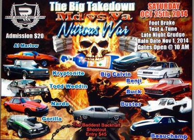 The Big Takedown MD vs VA Nitrous War