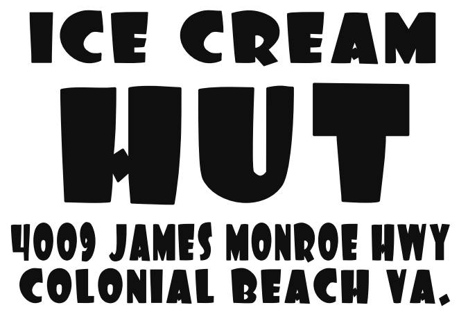 Ice Cream Hut logo