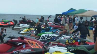 Colonial Beach Jetski Races