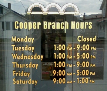 Colonial Beach Library Hours