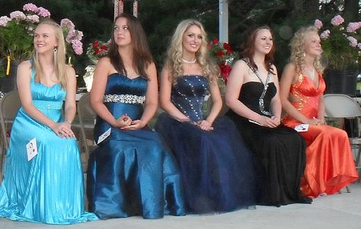 2010 Miss Colonial Beach Contestants