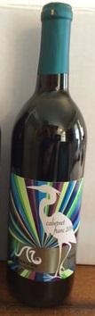 Bottle of Monroe Bay Vineyard wine
