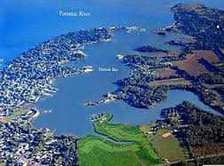 Aerial View of Monroe Point