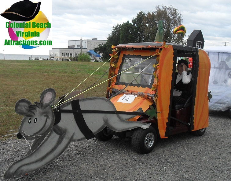 Mouse Golf Cart
