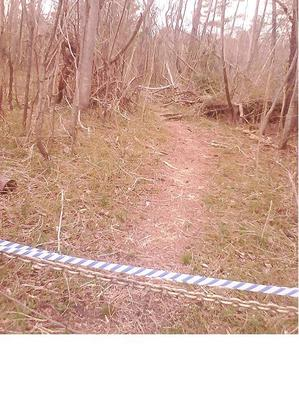 Path Taped Off