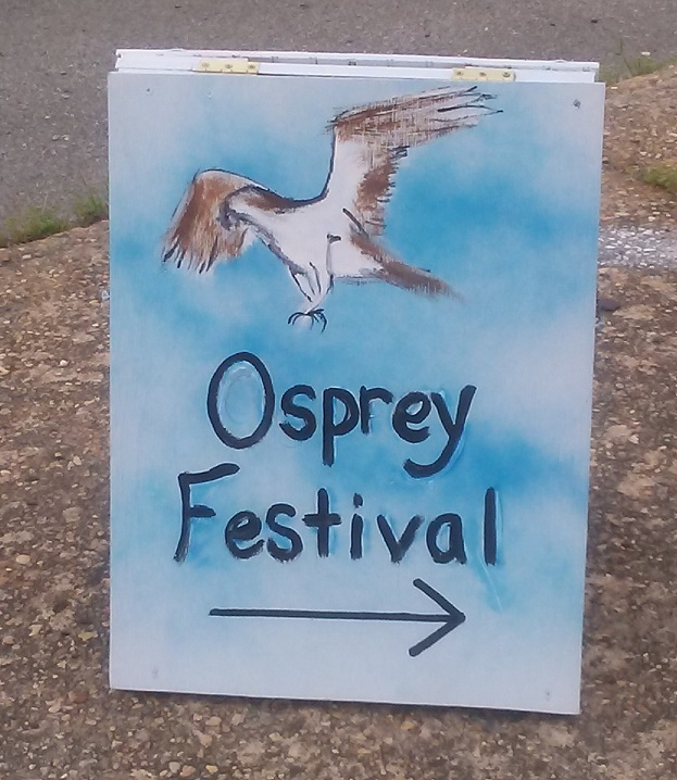 Osprey Festival Sign